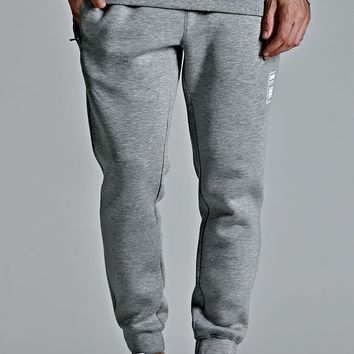Been Trill ## Tech Zipper Fleece Jogger Pants - Mens Pants - Gray