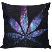 Galaxy Weed Pillow