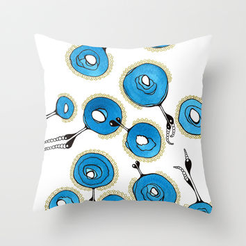 Classy Throw Pillow by Gosia&Helena