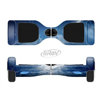 The Vivid Blue Falling Stars in the Night Sky Full Body Skin Set for the Smart Drifting SuperCharged Transportation iiRov
