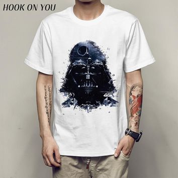 star war T-shirts printed ArmorLock t shirt men Funny novel men 's top tees Harajuku Style warrior t shirt Darth Vader camiseta