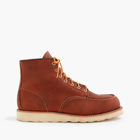 """J.Crew Mens Red Wing 6"""" Moc-Toe 875 Boots"""