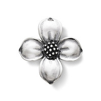 James Avery Dogwood Pendant - Sterling Silver