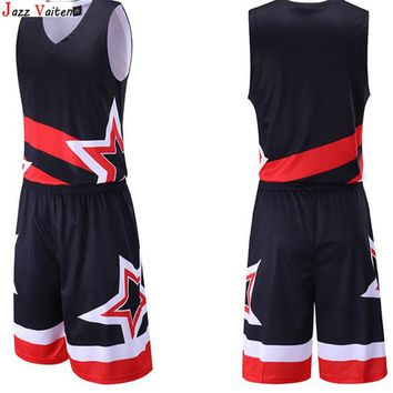 Jazz Vaiten  Retro Throwback Basketball JERSEY Men Sport Jerseys Sets Custom Shirts Vests  With  Pants Suit Top Quality