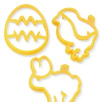 Easter Silicone Pancake Molds, Set of 3