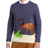 Alex Stevens Men's Reindeer Hangover, Stone/Uniform, Small