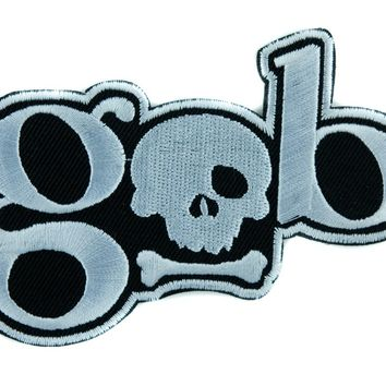 GOB Skull Patch Iron on Applique Alternative Clothing Hardcore Gamer