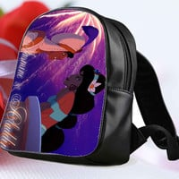 aladdin and jasmine disney love story for Backpack / Custom Bag / School Bag / Children Bag / Custom School Bag **