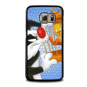 SYLVESTER AND TWEETY Looney Tunes Samsung Galaxy S6 Case Cover