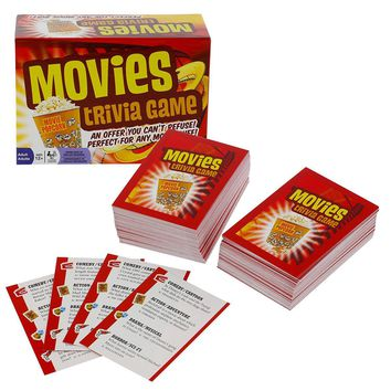 Movies Trivia 1200 Questions Card Game