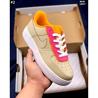 NIKE AIR FORCE 1 tide brand men's and women's wild casual low-top shoes #2