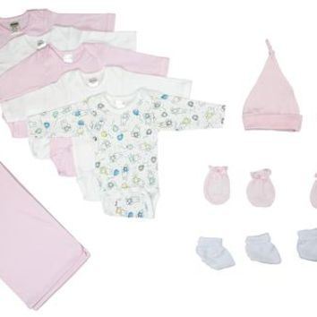 Girl 12 Pc Layette Baby Shower Gift