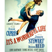 It's a Wonderful Life, Donna Reed, James Stewart, 1946 Poster at AllPosters.com