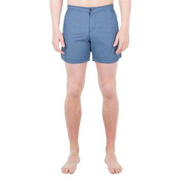 PEAPGQ9 Ben Sherman - Retro Geo Mens Swim Shorts