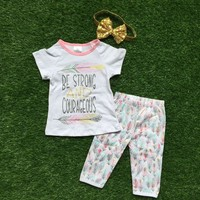 Be Strong And Courageous Outfit