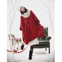 Hot Sale Loose Style Batwing Sleeves Sweater For Female China Wholesale - Sammydress.com
