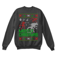 SPBEST Mostly Christmas Xenomorphs Alien Ugly Sweater