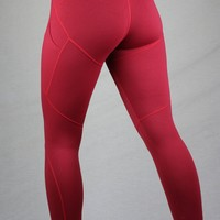 Zynith Women's Daily Limitless Leggings Power Red