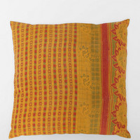 Magical Thinking Overdyed Kantha Pillow - Urban Outfitters