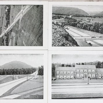 Vintage Pennsylvania Super Highway Black and White Pictures