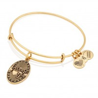 Because I Love You Charm Bangle