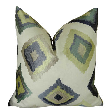 Plutus Native Trail Dew Handmade Throw Pillow