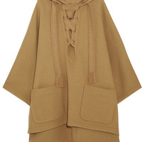 Chloé - Iconic hooded wool-blend cape