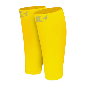 Yellow Calf Compression Socks / Sleeves (Pair)
