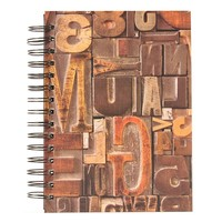 Burnes of Boston Random Thoughts Spiral Journal