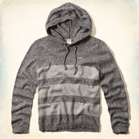 Seal Beach Color Block Hooded Sweater