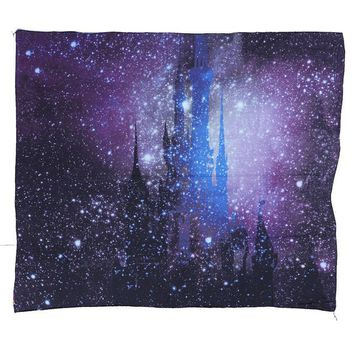 Cool Tapestry! Purple Starry Skies Throwback Hippie Window Cover, Yoga Mat, Beach Throw, Wall Hanging  203X153Cm