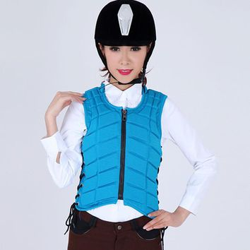 Equestrian Protective Vest Kids Adult Horse Riding Jackets Safety Body Protector Horsemanship Armor Equipment for Knight