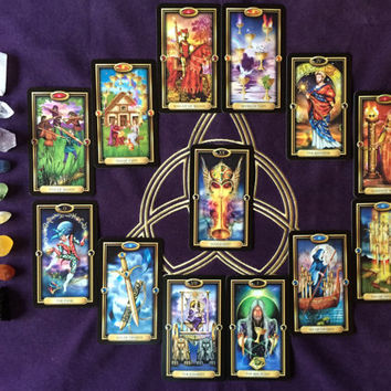 12 Month Tarot Reading, Year Reading, Psychic Reading, Accurate and in-depth, email or video