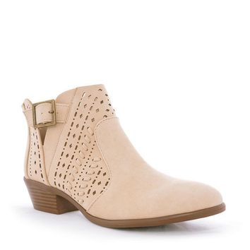 Stone Willa Ankle Booties
