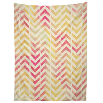 Allyson Johnson My Favorite Chevron Tapestry