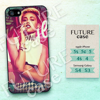 Miley Cyrus iPhone 4s case Miley Cyrus Idol iPhone case iphone 4 case iphone 4s case iphone 5 case Hard or Soft Case-MIC10