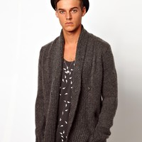 Antony Morato Mohair Mix Cardigan at asos.com