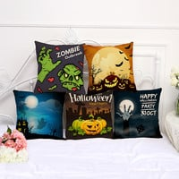 Spooky Halloween Pillow Covers