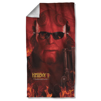 Hellboy Big Red Sublimated Beach Towel