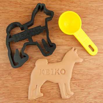 Shiba Inu Dog Cookie Cutter  Dog Custom Treat Personalized Pet