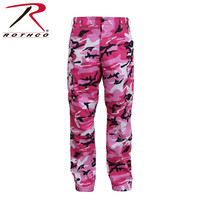 Rothco 8670 Men's Color Camo BDU Pant - Pink Camo | Mens and Womens Workwear at G&L Clothing