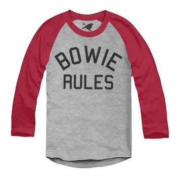 Child's Bowie Rules Raglan