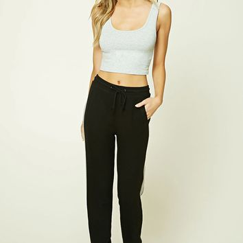 Contrast-Paneled PJ Pants