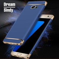 Luxury plating matte case For Samsung Galaxy A5 A7 2016 hard PC back cases For Samsung A5 A7 2017 Ultra Thin full phone cover