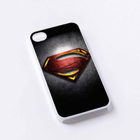 logo superman man of steel iPhone 4/4S, 5/5S, 5C,6,6plus,and Samsung s3,s4,s5,s6