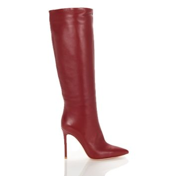Shop Luxury Footwear - Gianvito Rossi Suzan Knee-High Boots | Editorialist
