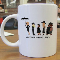 american horror story coven For Ceramic Mug Design - PortiaMug