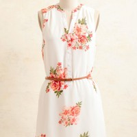Under The Shade Floral Dress