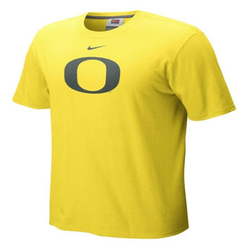 Nike Oregon Ducks Yellow Classic Logo T-shirt