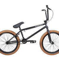 Cult Gateway 2016 Black Complete BMX Bike Gum Tires